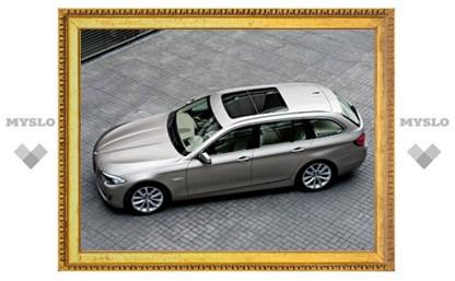 """Компания BMW представила 5-Series с кузовом """"универсал"""""""