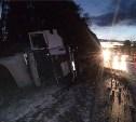 В лобовом столкновении BMW и грузовика Scania пострадал 9-месячный ребенок