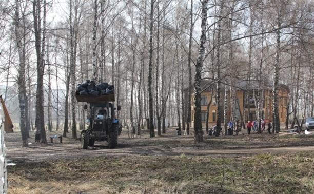 Березовую рощу в Пролетарском благоустроят в 2015 году