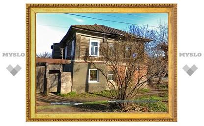 В Туле рухнула крыша частного дома