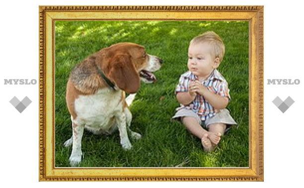 Маленькие дети оказались способны понимать собак