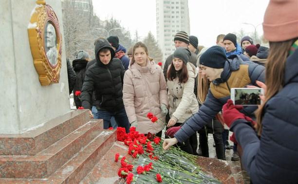 В Туле почтили память солдат, погибших при обороне города в 1941 году