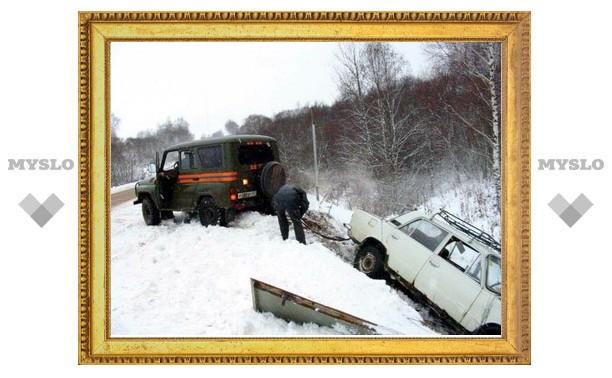 В Туле произошло более 30 аварий