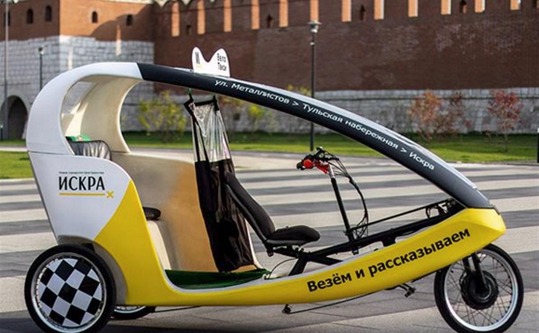 В Туле появилось велотакси