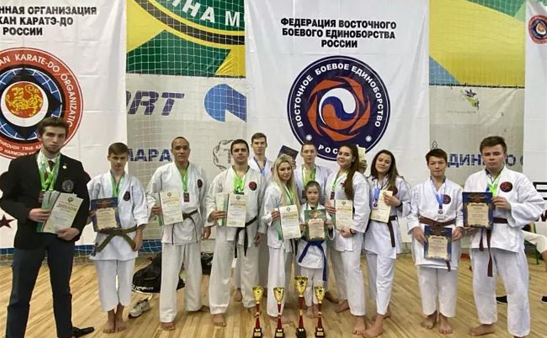 Туляки завоевали медали на чемпионате и первенстве ЦФО по восточному боевому единоборству