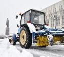 В уборке снега в Туле задействованы 66 единиц техники и 172 человека
