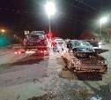 В жестком ДТП на ул. Оборонной в Туле пострадали три человека
