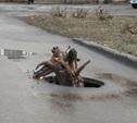 Воры украли крышку канализационного люка