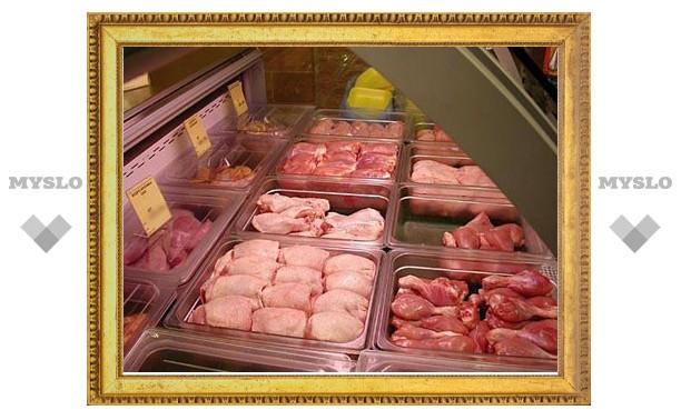 В Тульской области продавалось подозрительное мясо