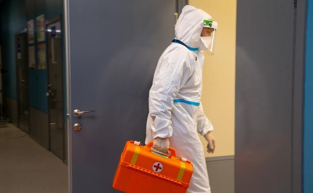 В Тульской области подтвердились еще 66 случаев коронавируса