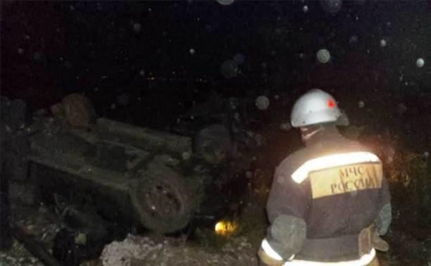 В тройном ДТП под Алексином погиб мужчина
