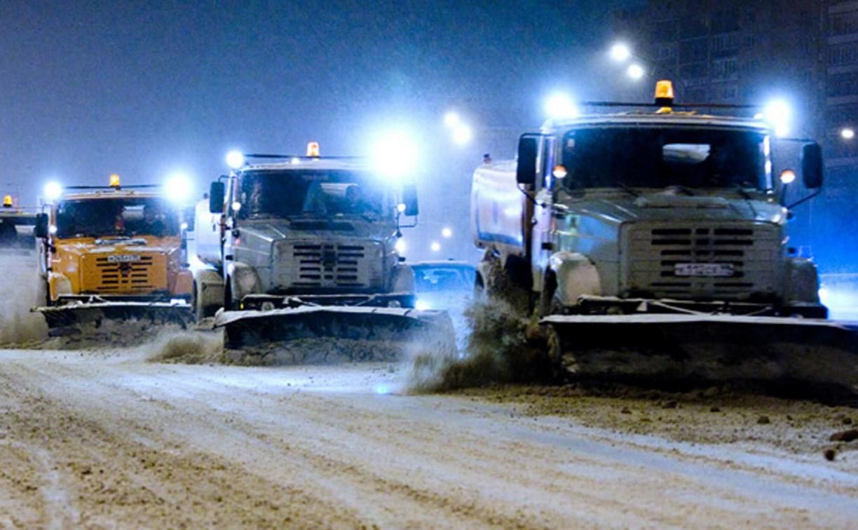 Ночью тульские улицы будут убирать 86 единиц спецтехники