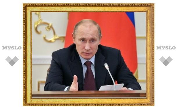 Путин предложил отложить пенсионную реформу до 2014 года