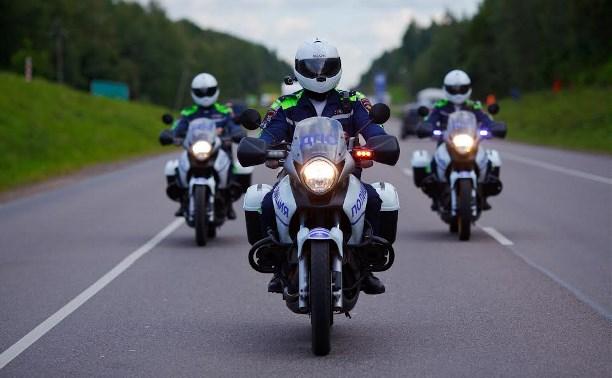 В Туле с начала года произошло три ДТП по вине мотоциклистов
