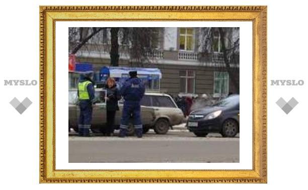 """Opel"" и ""Жигули"" не поделили дорогу"