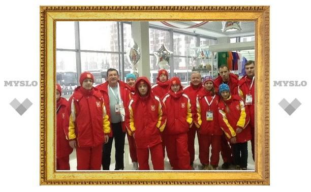 Тульские юные спортсмены приняли участие в детских играх