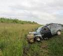 На трассе М6 пьяный водитель ВАЗа выехал на встречку и устроил тройное ДТП
