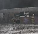 В бывшем кинотеатре «Искра» произошел пожар