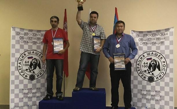 Тульские шашисты выступили на соревнованиях в Коломне