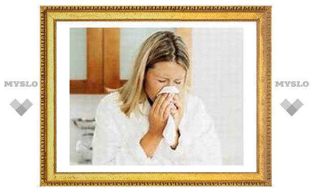 На Тулу идет грипп