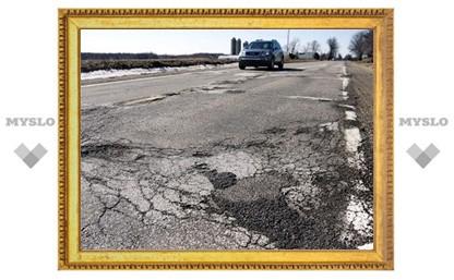 В Тульской области найдены бесхозные дороги