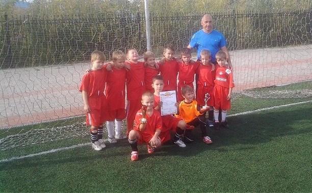Тульская команда юниоров заняла четвертое место в турнире по футболу в Подольске