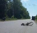 В Щёкино грузовик MAN сбил 41-летнего велосипедиста