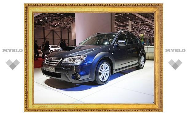 """Компания Subaru представила """"внедорожный"""" хэтчбек Impreza"""