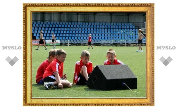 В Новомосковске открыли новое футбольное поле