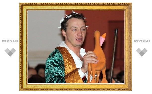 Марат Башаров устроил в Туле утиную охоту