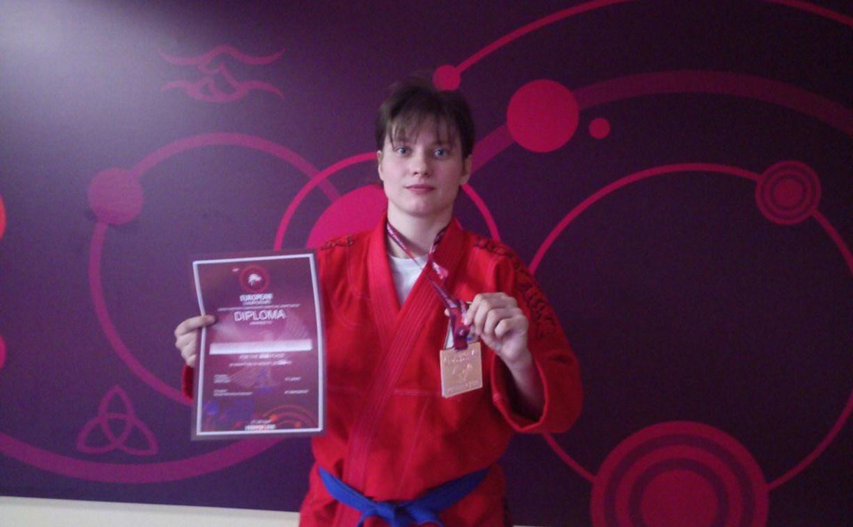 Тулячка привезла медаль с чемпионата Европы по грэпплингу