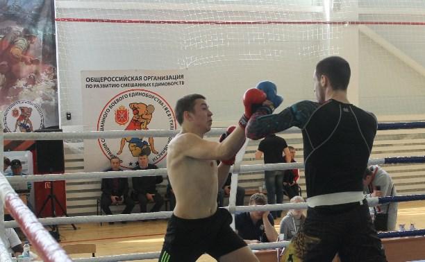 В Алексине прошли представительные соревнования по смешанным единоборствам