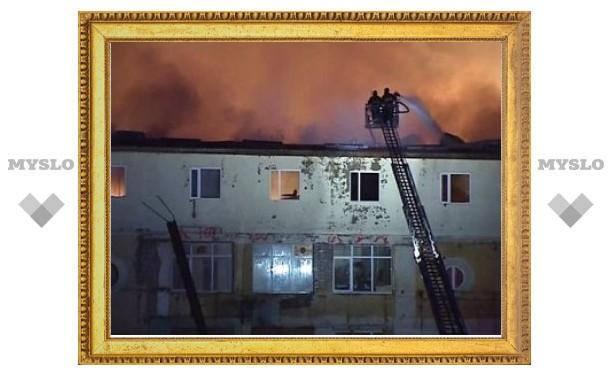Пожар в студенческом общежитии на востоке Москвы потушен