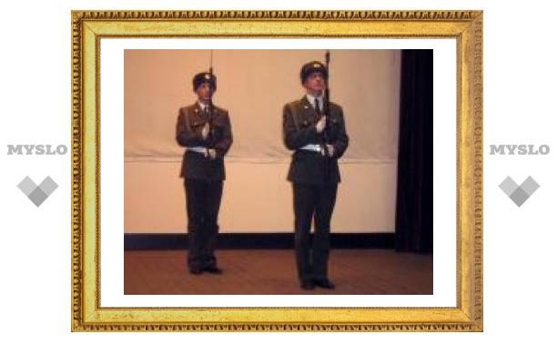 В Тульском артинституте отпраздновали День ракетных войск и артиллерии