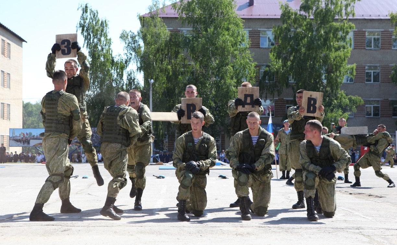 Тульские десантники отметили День ВДВ