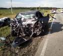 В жуткой аварии под Липецком погибла семья из Тульской области