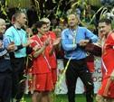 Звездные тренеры «Арсенала» забили по голу в матчах «Кубка легенд»