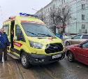 В Туле на ул. Октябрьской из-за ДТП со скорой образовалась пробка