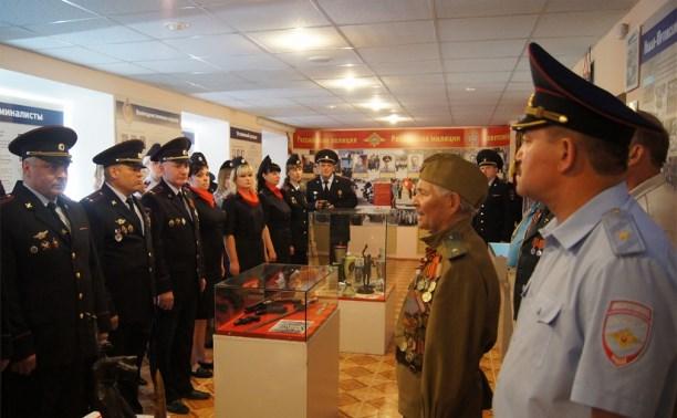 Тульский музей УМВД пополнился капсулой-пулей с землёй города-героя Волгограда
