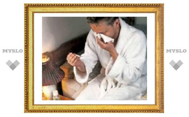 Туляки стали чаще болеть гриппом