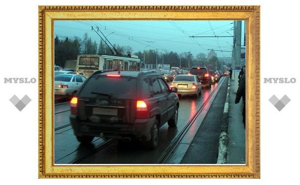 Зареченский мост в Туле - вне ПДД?