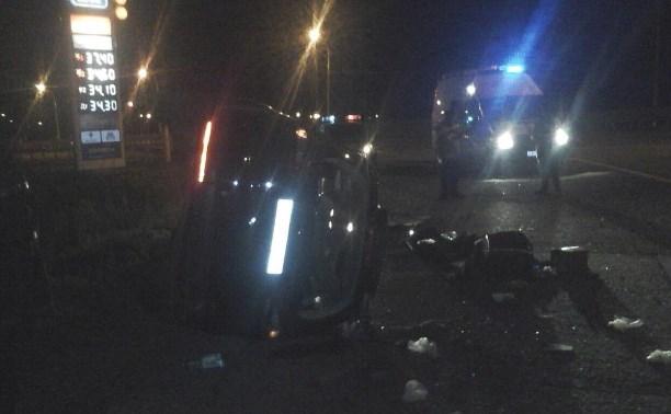 В ДТП на М4 пострадали двое несовершеннолетних