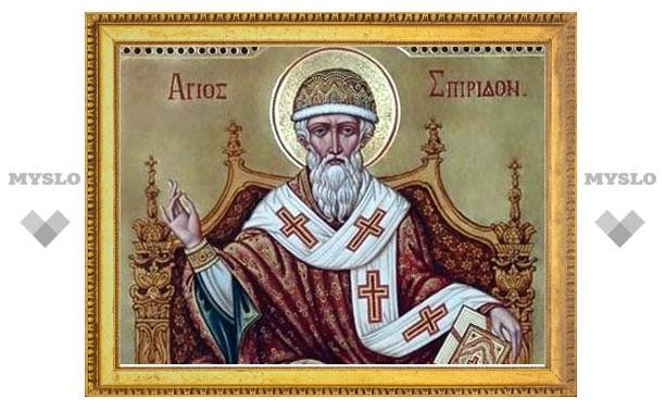 В Белев прибудет икона Спиридона Тримифунтского