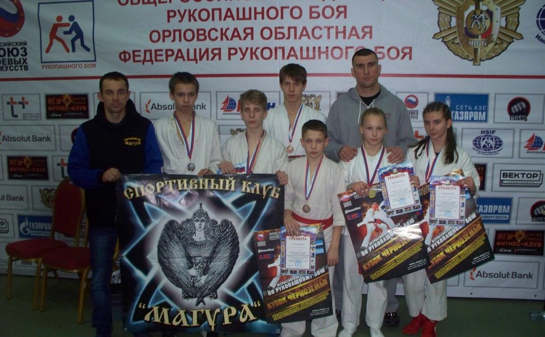 Тульские рукопашники привезли медали с «Кубка Черноземья»