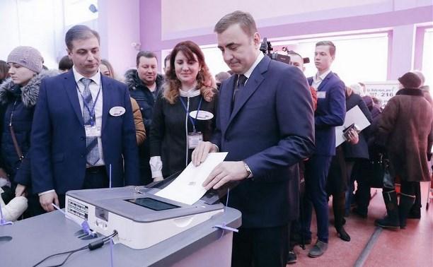 Алексей Дюмин прокомментировал результаты выборов Президента РФ в Тульской области