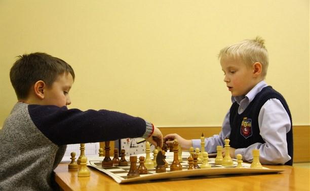 В Туле стартовало областное первенство по шахматам среди детей до 9 лет