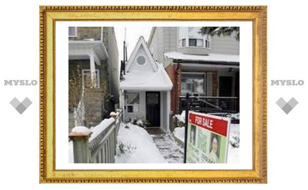 Самый маленький дом Торонто выставлен на продажу