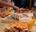 Тульская Госавтоинспекция накормила сирот тортом ДПС