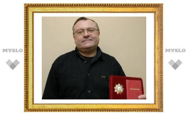 Тульский певец получил орден