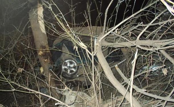 Водитель протаранил дерево на ул. Ф. Смирнова и скрылся с места аварии